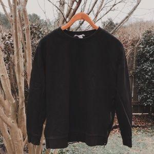 FREE w/ ANY BUNDLE! Black Sweatshirt w/ Zippers